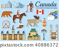 Country Canada travel vacation guide of goods 40886372