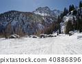 village,mountain,old 40886896