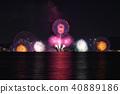 불꽃 놀이, 불꽃 놀이 대회, 비와호수 40889186