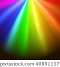 Colorful rainbows rays 40891137