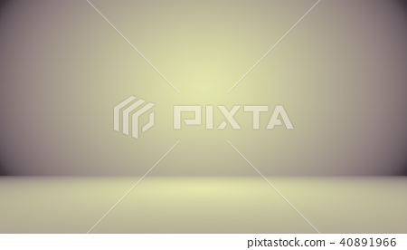 A soft vintage gradient blur background with a pastel colored well use as studio room, product 40891966