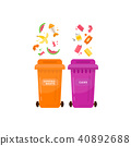 Ecology and waste global eco friendly plastic 40892688