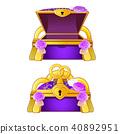 purple ring vector 40892951