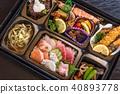 日式便当 准备盒饭 食物 40893778