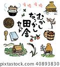 日本鄉下風景例證集合 40893830