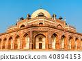 Humayun's Tomb, a UNESCO World Heritage Site in Delhi, India 40894153