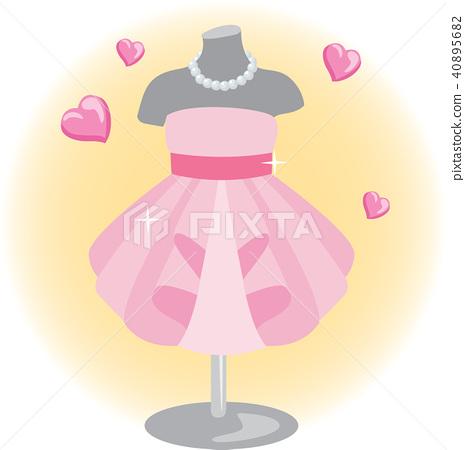 Fashion, illustration 40895682