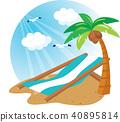海灘,插圖 40895814