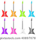 guitar, guitars, stringed 40897078