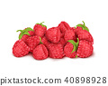 raspberry fruit heap 40898928