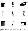 handmade icon set 40902223