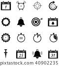 reminders icon set 40902235