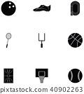 sport icon set 40902263