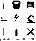 welding icon set 40902283