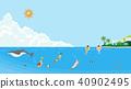 夏天 夏 海水浴 40902495