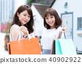 购物年轻女性旅行 40902922