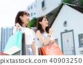 购物年轻女性旅行 40903250