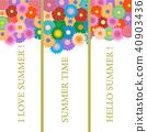 flower, floral, bookmark 40903436