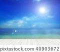 背景 - 熱帶 - 海 - 天空 40903672