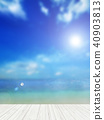 背景 - 熱帶 - 海 - 天空 40903813