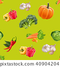 seamless pattern vegetable 40904204
