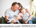 portrait, family, parents 40904254