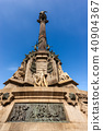 Column of Christopher Columbus - Barcelona Spain 40904367