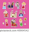 fairy medieval vector 40904542