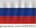 vector of ripple russia flag 40904654