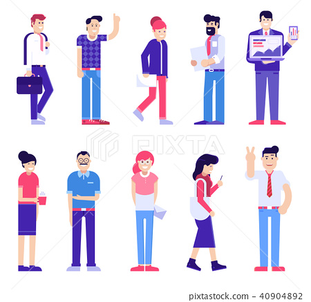 Office People Set, Modern Society 40904892