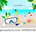 暑假背景 40906596
