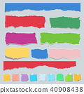 collection, color, paper 40908438