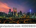 Cityscape of Kuala lumpur city 40909809