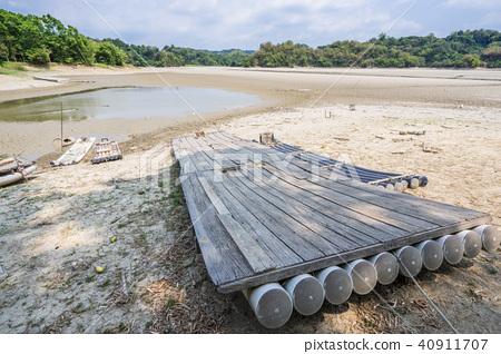 台南未開發地區台灣湖夢之湖乾旱乾旱夢之湖幹Kan秀 40911707