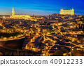 Land scape of Toledo old city 40912233