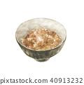 Brown rice rice 40913232