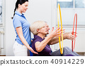 Senior, physio, therapy 40914229