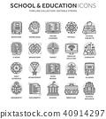 school, education, vector 40914297