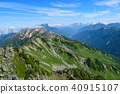 Northern Alps Back Ginza Longitudinal Route Tateyama Mountain Range, Tateyama Mountain Range, Kurobe Dam 40915107