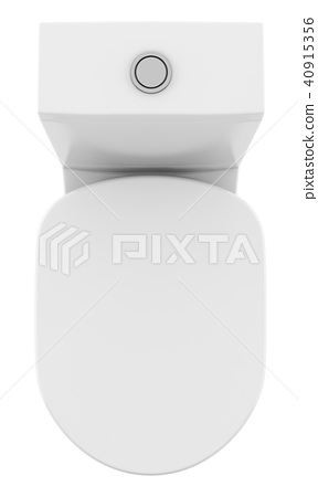Surprising Top View Of Modern Standing Toilet Bowl Isolated Stock Creativecarmelina Interior Chair Design Creativecarmelinacom