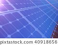 cell panel photovoltaic 40918656