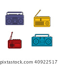 Bumbox icon set, color outline style 40922517