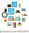 energy sources icon 40923645