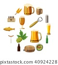 beer, icon, set 40924228