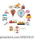 park,amusement,icons 40924910