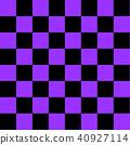 보라색의 체스 판 40927114