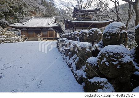愛宕念仏寺 積雪 下雪 40927927
