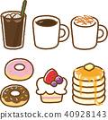 咖啡廳飲料套房 40928143