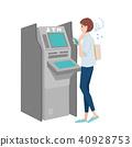 ATM女性例證 40928753