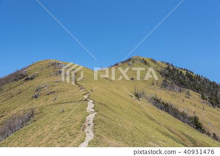 次郎ridge的山脊線 40931476